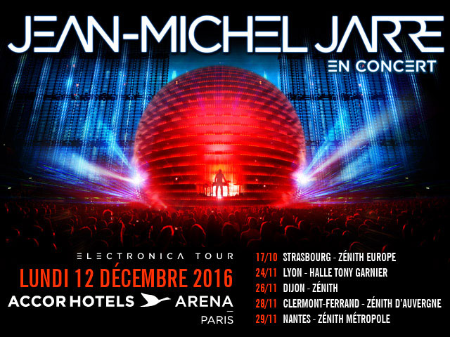 JEAN-MICHEL JARRE – ELECTRONICA TOUR
