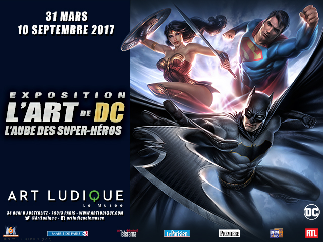 Exposition DC Comics
