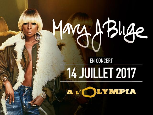 MARY J. BLIGE – OLYMPIA