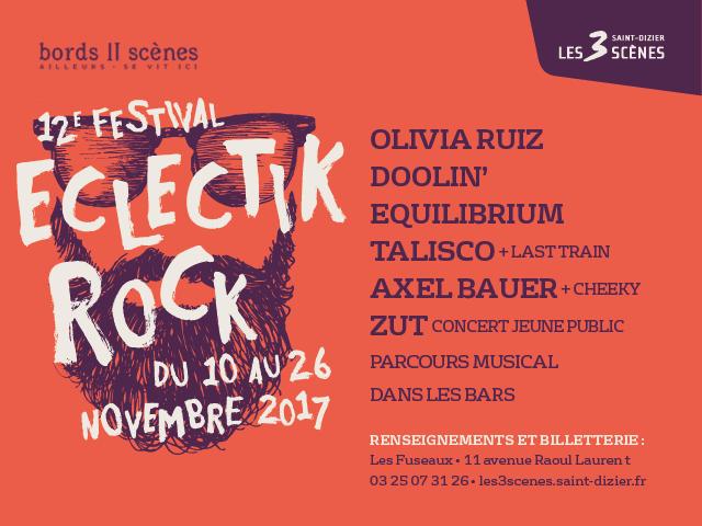 12ème FESTIVAL ECLECTIK ROCK