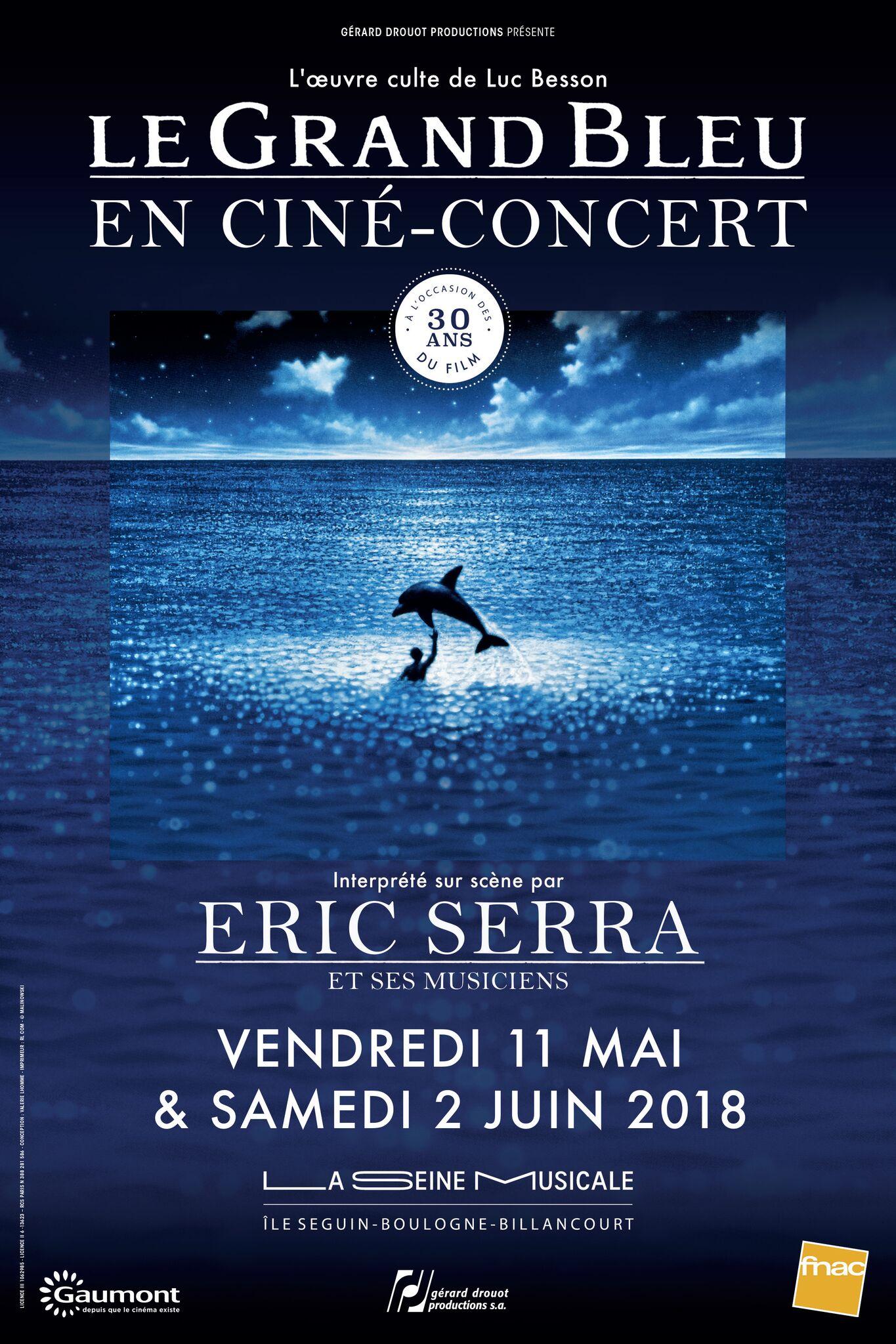 Le grand bleu cine-concert