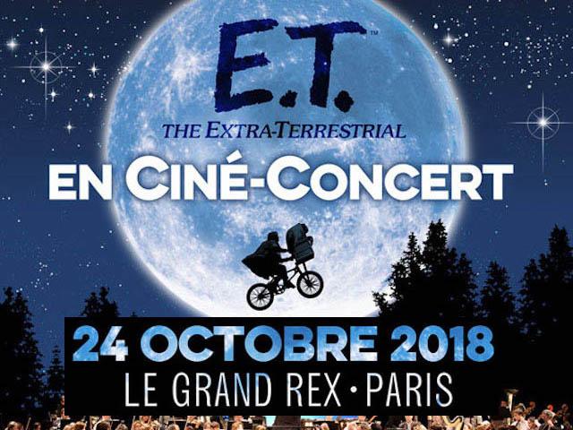 CINÉ-CONCERT E.T.