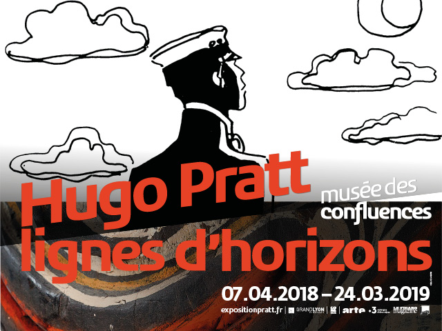 HUGO PRATT – LIGNES D'HORIZONS