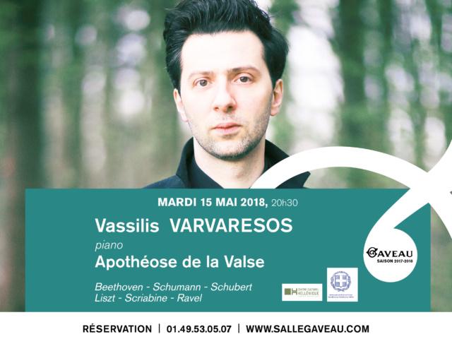 VASSILIS VARVARESOS – APOTHÉOSE DE LA VALSE
