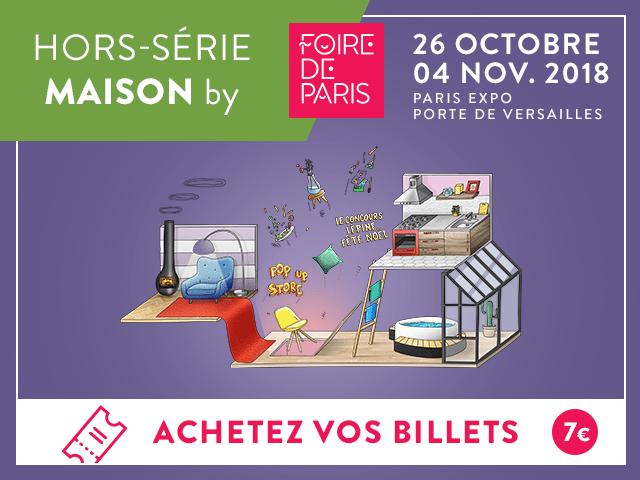 Foire de Paris Hors Série Maison 2018
