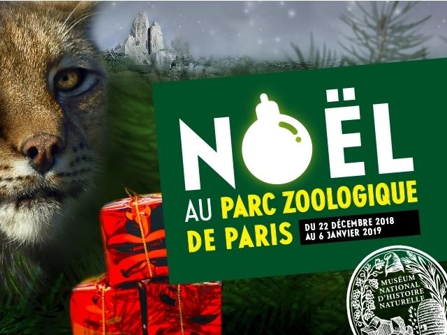 NÖEL AU PARC ZOOLOGIQUE DE PARIS