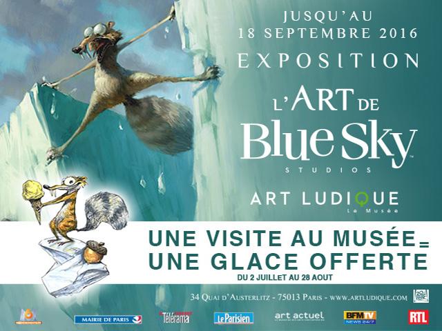 blue sky age de glace