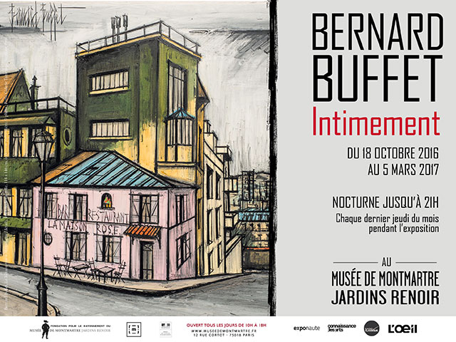 Bernard Buffet, Intimement