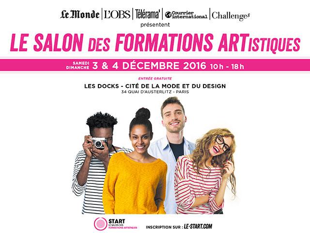 LE SALON DES FORMATIONS ARTISTIQUES