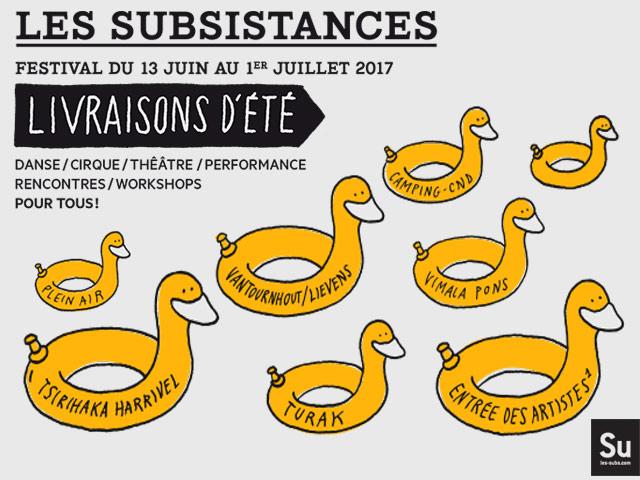 LES SUBSISTANCES – Festival Livraisons d'Eté