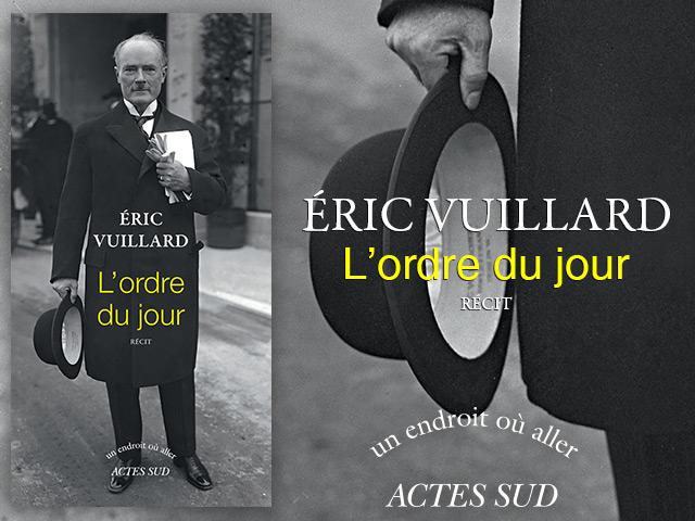 ACTES SUD – Eric Vuillard