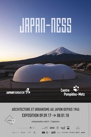 exposition japan-ness centre Pompidou Metz
