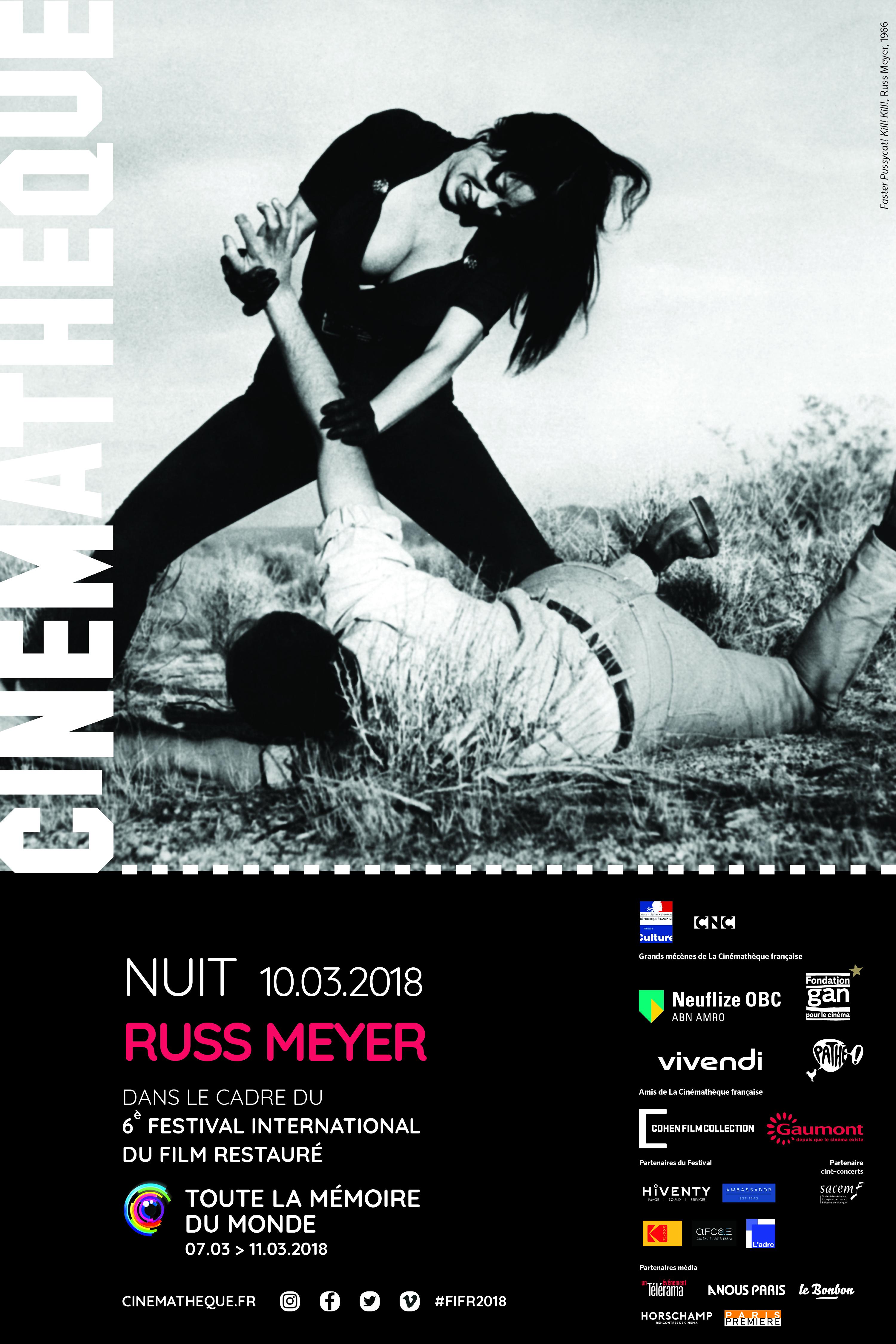 nuit russ Meyer cinematheque
