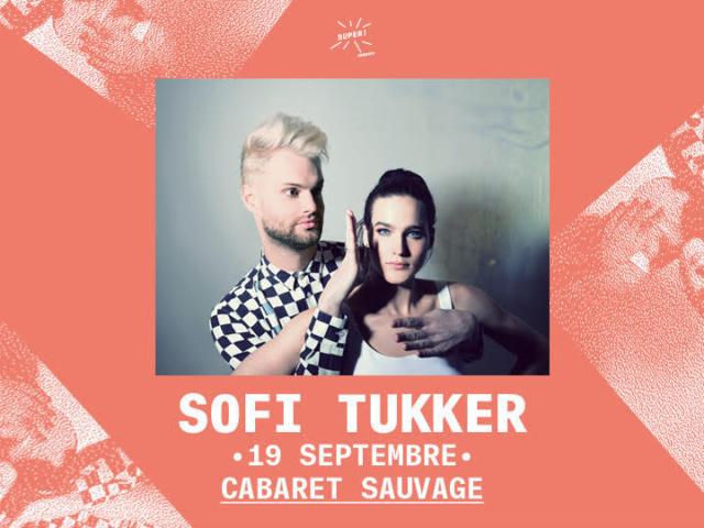 Sophie Tukker en concert