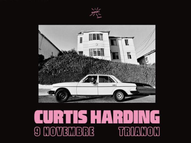 Curtis Harding en concert