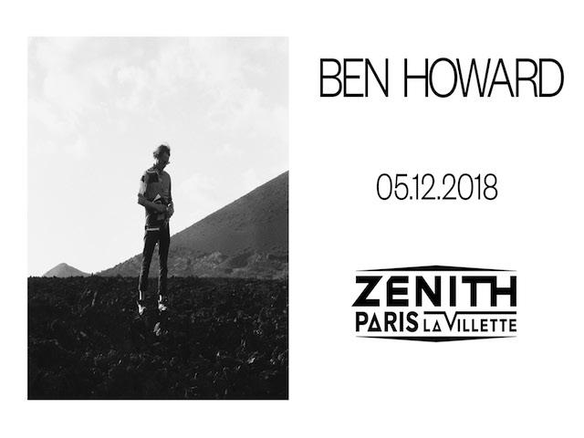 BEN HOWARD EN CONCERT