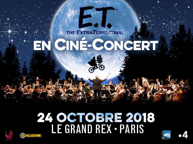 CINÉ-CONCERT E.T. AU GRAND REX