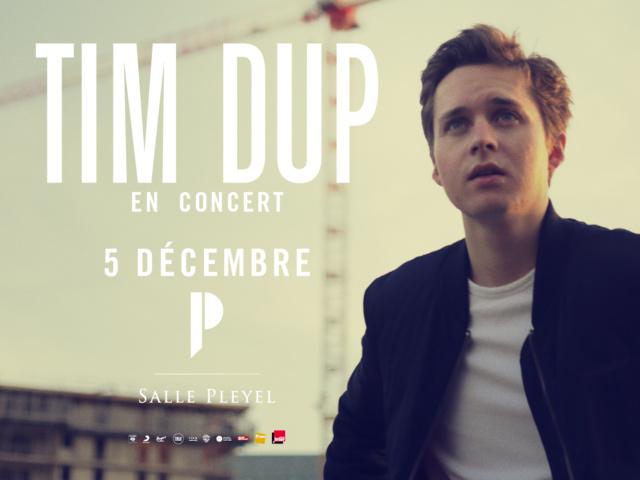 Tim Dup en concert