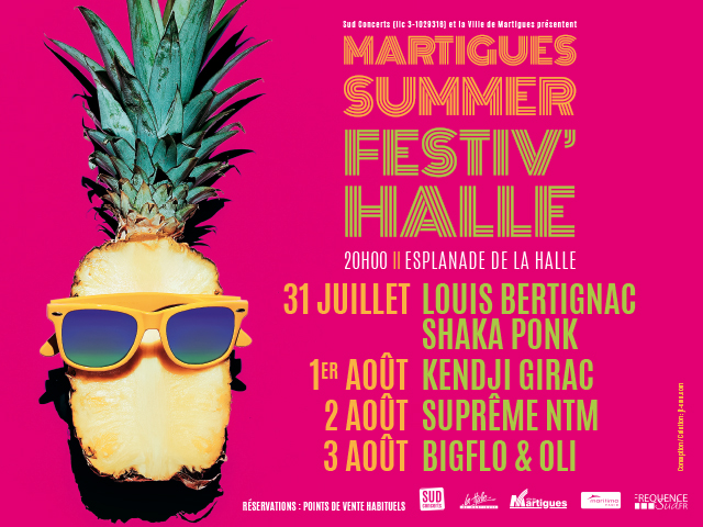 MARTIGUES SUMMER FESTIV'HALLES