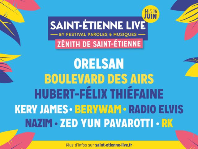SAINT ÉTIENNE LIVE (BY PAROLES ET MUSIQUES)