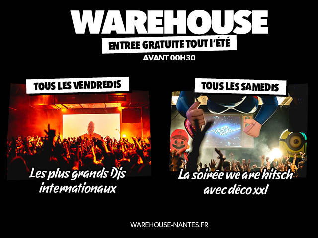 WAREHOUSE NANTES – PACO TYSON