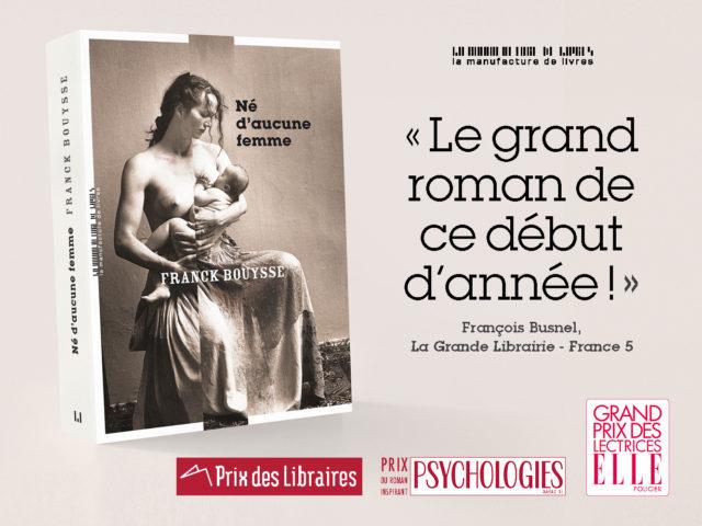 FRANCK BOUYSSE – NÉ D'AUCUNE FEMME
