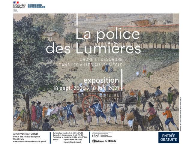 LA POLICE DES LUMIÈRES
